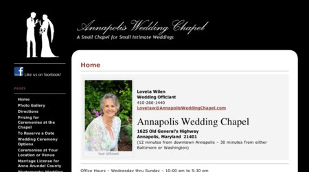 Annapolis Wedding Chapel