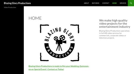 Blazing Glory Productions