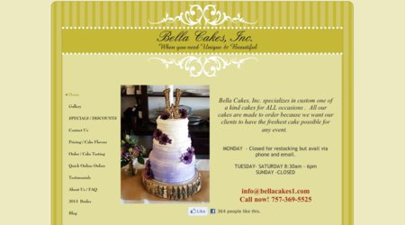 Bella Cakes, Inc.