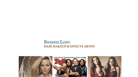 Sherrie Long Makeup Hair & Effects