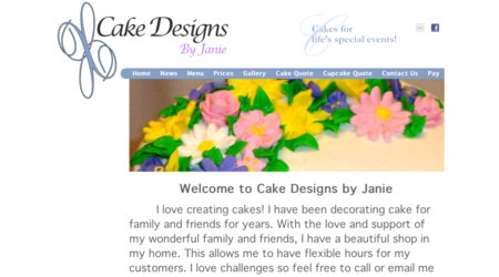 Cake Designs by Janie