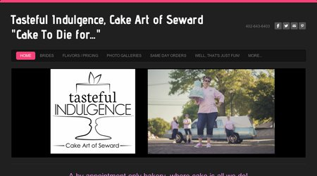 Tasteful Indulgence, Cake Art of Seward