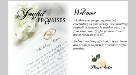 Joyful Promises Officiant Services