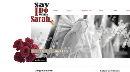 Say I Do With Sarah