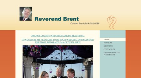 Reverend Brent - OC Wedding Officiant