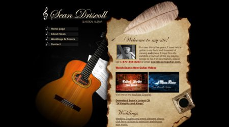Sean Driscoll Classical Guitar