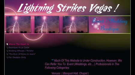Lightning Strikes Vegas!