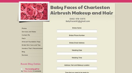 Baby Faces of Charleston, Onsite Makeup and Hair