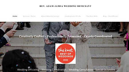 Adam Jamsa Wedding Officiant / Rev