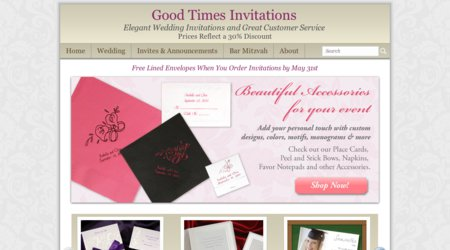 Good Times Invitations