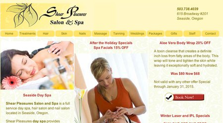 Shear Pleasures Salon & Spa