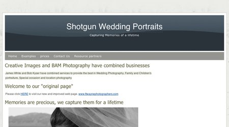 Shotgun Wedding Portraits