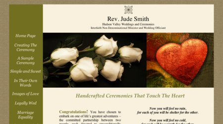 Jude Smith ~ Interfaith Minister/Civil Officiant