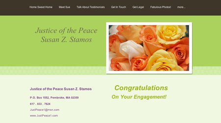 Justice of the Peace Susan Z. Stamos