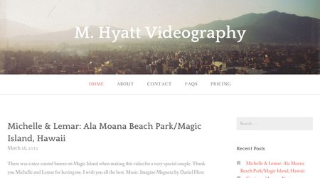 M. Hyatt Productions (a M. Hyatt Videography)