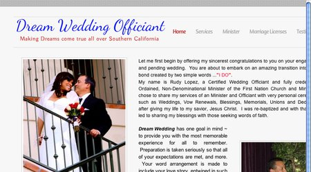 Dream Wedding Officiant
