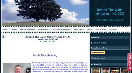 Behind The Walls Ministry-C.O.G