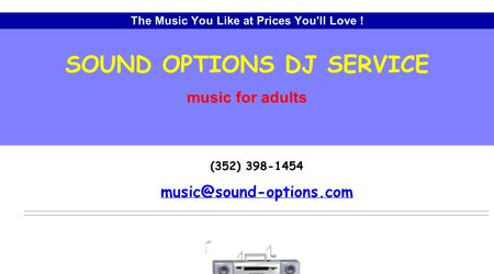 Sound Options DJ Service