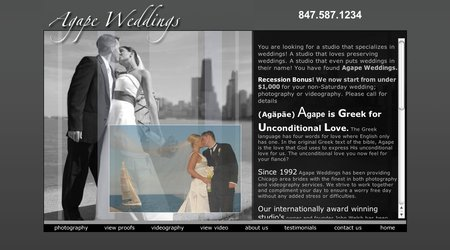 Agape Weddings