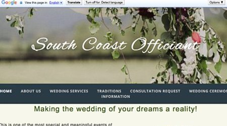 South Coast Officiant