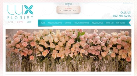 LUX Wedding Florist