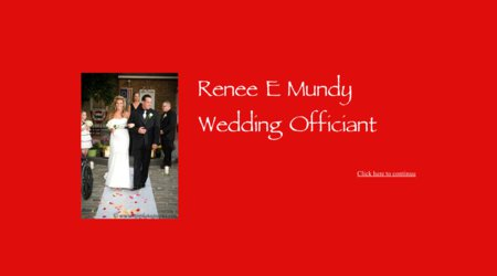 Renee E Mundy, Wedding Officiant