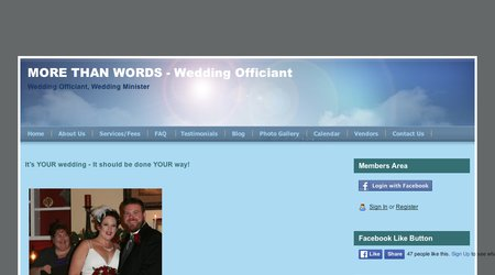 More Than Words - Wedding Officiant