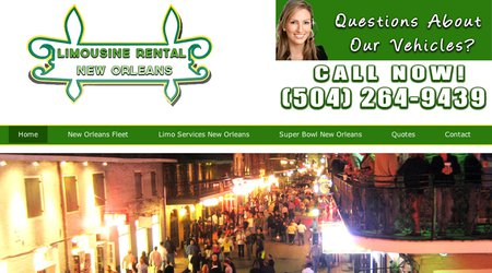 Limousine Rental New Orleans