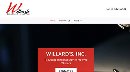 Willard's Formal Wear & Tailor Shop