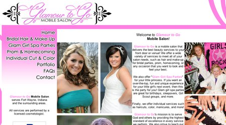 Glamour to go salon