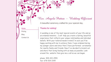 Rev. Angela Patton - Wedding Officiant