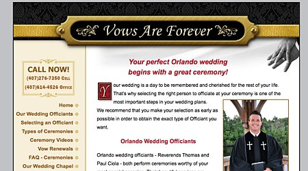 Vows Are Forever-Orlando Wedding Officiants