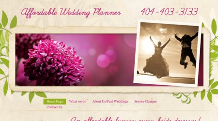 Affordable Wedding Planner