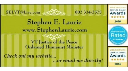 Stephen Laurie, VT Justice of the Peace