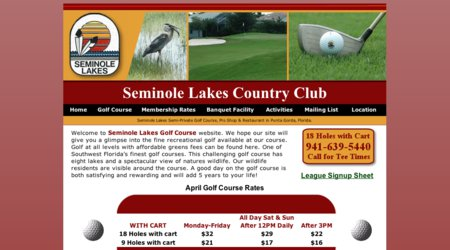 Seminole Lakes Golf & Country Club