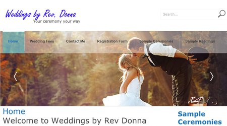 Weddings By Rev. Donna