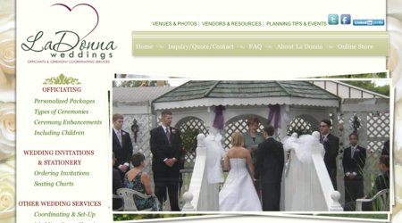 La Donna Weddings Officiants & Coordinating Services