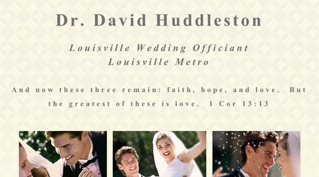 Dr. David Huddleston Weddings