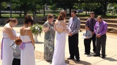 Rebecca Gamble, Wedding Officiant