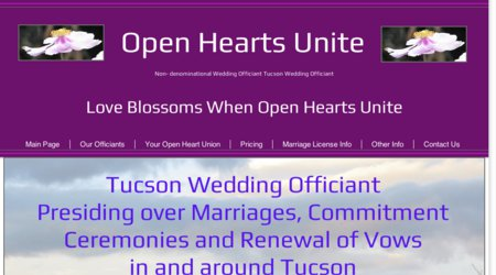 Marry Us in Tucson formerly Open Hearts Unite