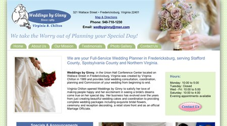 Weddings By Ginny