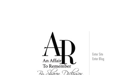 An Affair to Remember by Sharon Dickinson