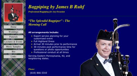Bagpiping by James B Ruhf