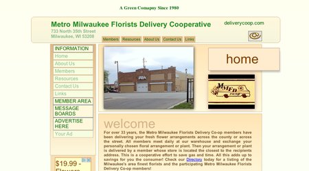 Metro Milwaukee Florists Delivery Cooperative