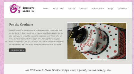 Susie G's Specialty Cakes