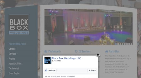 Black Box Weddings