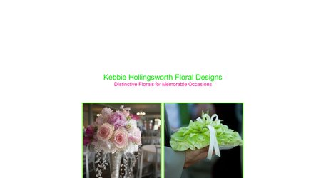 Kebbie Hollingsworth Floral Designs
