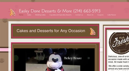 Easley Done Desserts & More