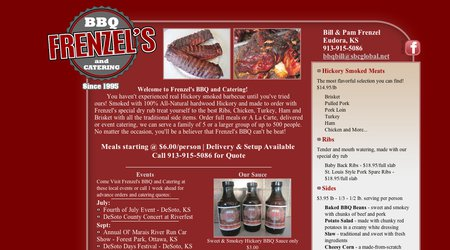Frenzel's BBQ and Catering