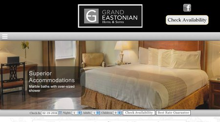 The Grand Eastonian Suites Hotel